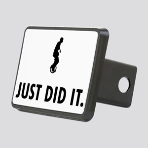 Unicycle-Rider-04-A Rectangular Hitch Cover