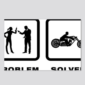 Motorcycle-10-A Postcards (Package of 8)