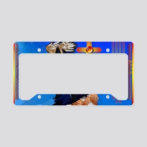 Black Stallion of Morning License Plate Holder