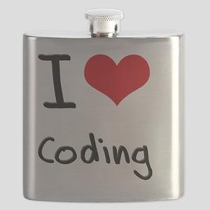 I love Coding Flask