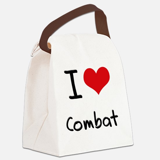 I love Combat Canvas Lunch Bag