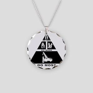 Crane-Operator-11-A Necklace Circle Charm
