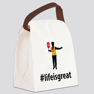 Crossing-Guard-06-A Canvas Lunch Bag