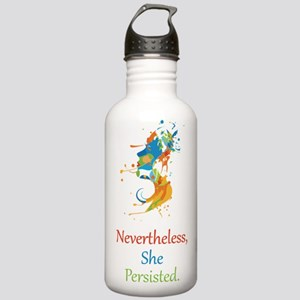 Nevertheless She Persisted Water Bottle
