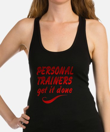 Personal Trainers Racerback Tank Top