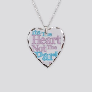 Heart Not Part TG Necklace Heart Charm