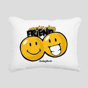 Friends Rectangular Canvas Pillow