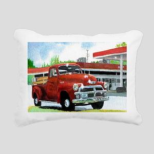 1954 Chevrolet Truck Rectangular Canvas Pillow