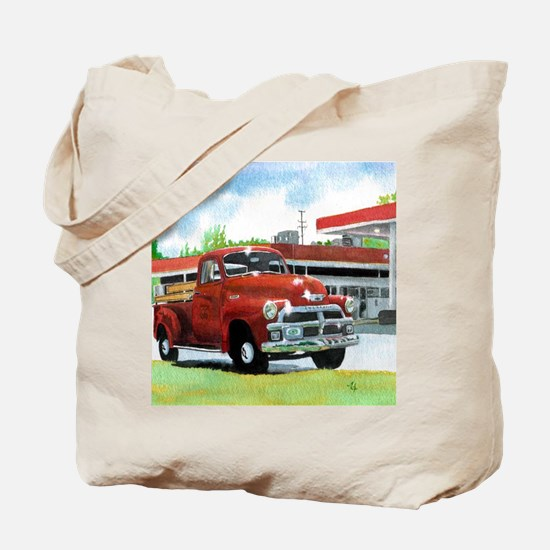 1954 Chevrolet Truck Tote Bag