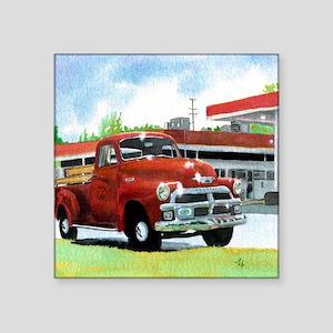 "1954 Chevrolet Truck Square Sticker 3"" x 3"""