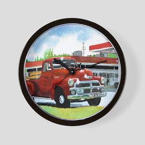 1954 Chevrolet Truck Wall Clock