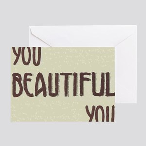 Positive vibes Greeting Card