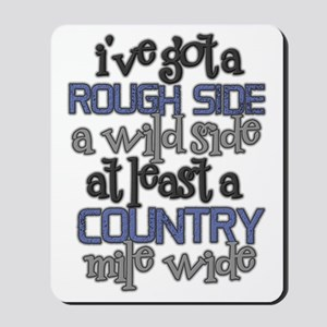 Justin Moore - Point at you Mousepad