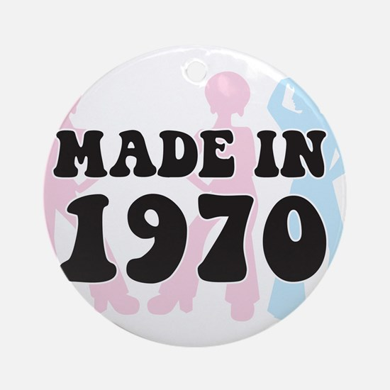 Made In 1970 Ornament (Round)