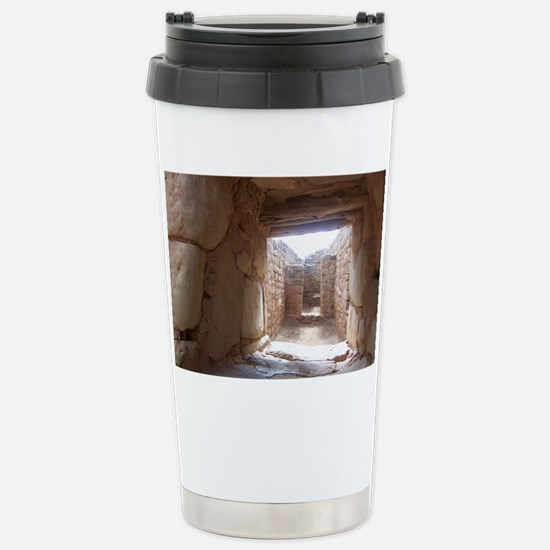 Anasazi Ruins in Utah Stainless Steel Travel Mug