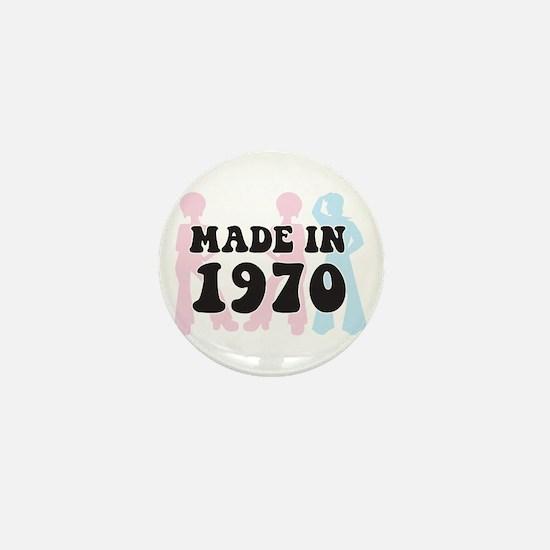 Made In 1970 Mini Button
