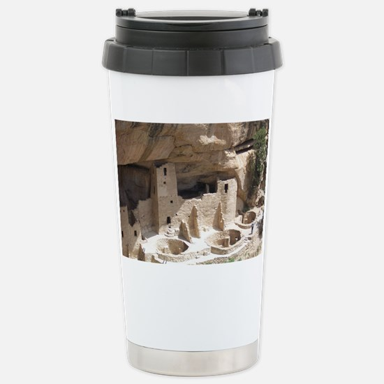 Mesa Verde Indian Cliff Stainless Steel Travel Mug