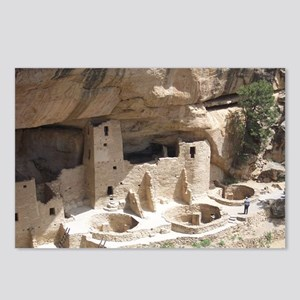 Mesa Verde Indian Cliff D Postcards (Package of 8)