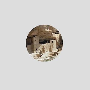 Mesa Verde Indian Cliff Dwellings Mini Button