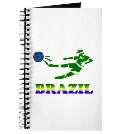 Brazil Soccer Player Journal