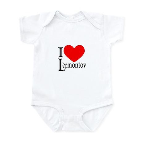 I Love Lermontov Infant Bodysuit