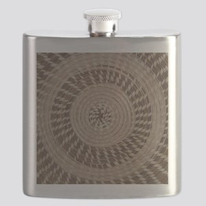 Sweetgrass Basket Design Flask