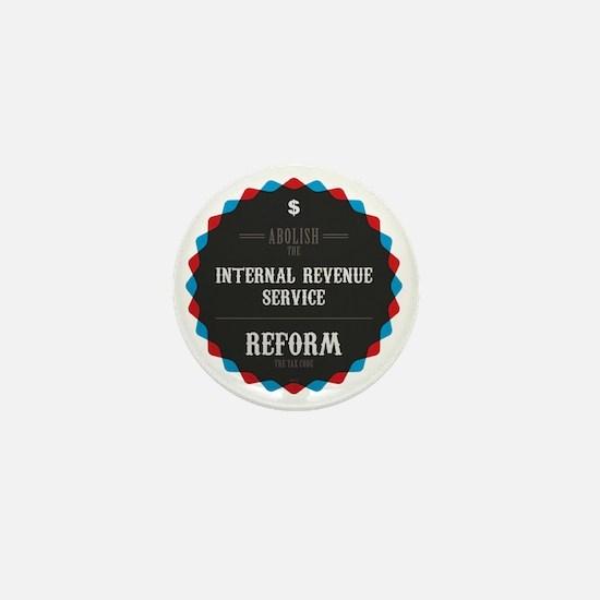 Reform The Tax Code Mini Button
