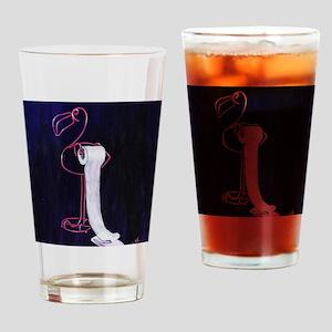 Flamingo TP Holder Drinking Glass