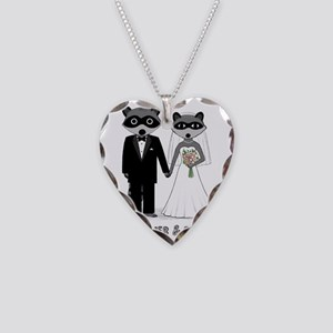 raccoonsforever Necklace Heart Charm
