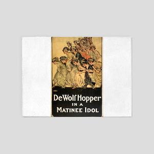 Matinee idol - Otis Lithograph - 1909 5'x7'Area Ru