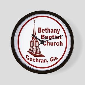 Bethany Baptist Church Wall Clock