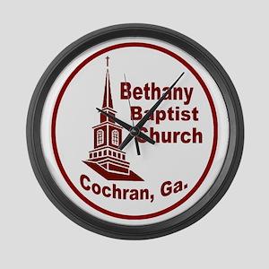 Bethany Baptist Church Large Wall Clock