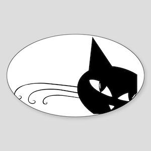 showercurtain702 Sticker (Oval)