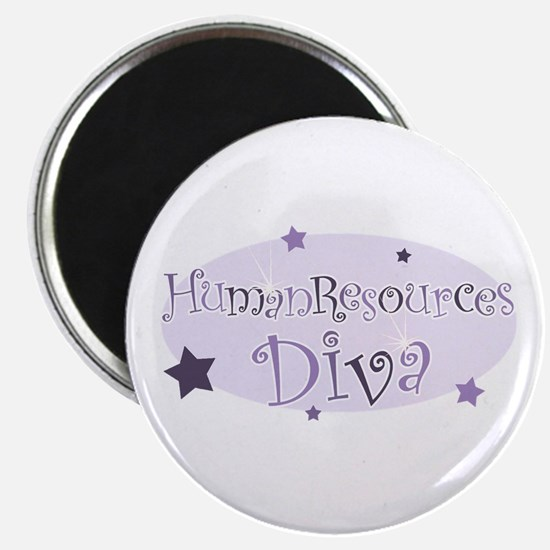 """Human Resources Diva"" [purpl Magnet"