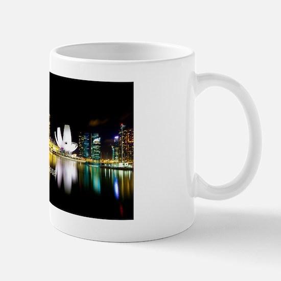 Singapore_12.2x6.64_Bag_MarinaBayNight Mug