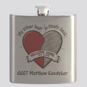 My Other Half Flask