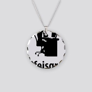 Customer-Service-Representat Necklace Circle Charm