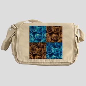 Collage of Roses Messenger Bag
