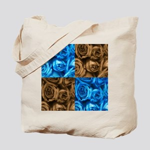 Collage of Roses Tote Bag