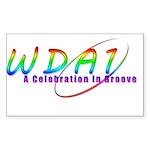 Wda1 Rectangle Sticker