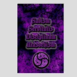 Sadism Servitutis Discipl Postcards (Package of 8)