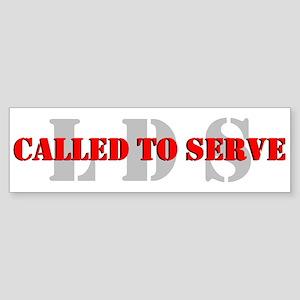 Called To Serve Sticker (Bumper)