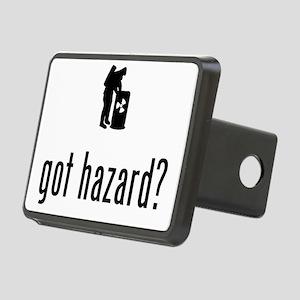 Hazardous-Materials-Remove Rectangular Hitch Cover