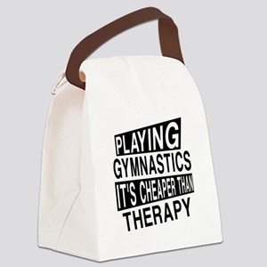 Awesome Gymnastics Player Designs Canvas Lunch Bag