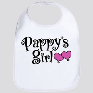 Pappy's Girl Cotton Baby Bib