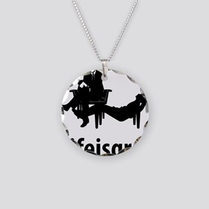 Psychiatrist-06-A Necklace Circle Charm