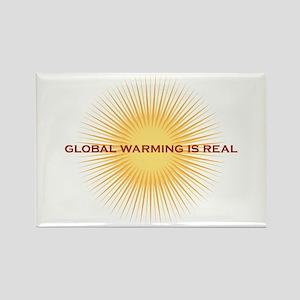 global warming Rectangle Magnet