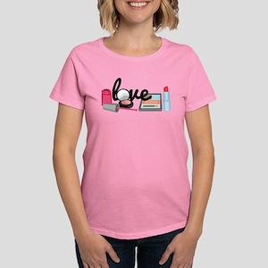 Makeup love Women's Dark T-Shirt