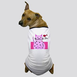 cat bird 6 Dog T-Shirt