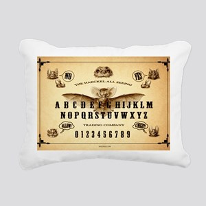 The Haeckle All Seeing T Rectangular Canvas Pillow